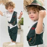 Βαπτιστικό Ρούχο για Αγόρια Bonito 21105