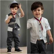 Βαπτιστικό Ρούχο για Αγόρια Bonito 21106