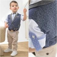 Βαπτιστικό Ρούχο για Αγόρια Bonito 21107