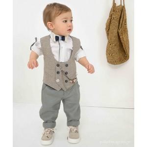 Βαπτιστικό Ρούχο για Αγόρια Bonito 21110