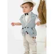 Βαπτιστικό Ρούχο για Αγόρια Bonito 21112