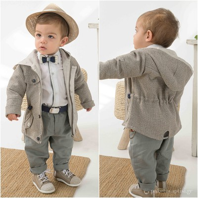 Βαπτιστικό Ρούχο για Αγόρια Bonito 21118