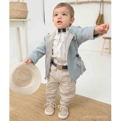 Βαπτιστικό Ρούχο για Αγόρια Bonito 21119