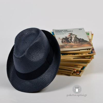 Καπέλο Παναμά Μπλε