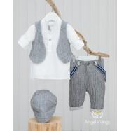 Βαπτιστικό Σύνολο για Αγόρια Alex | Angel Wings 023