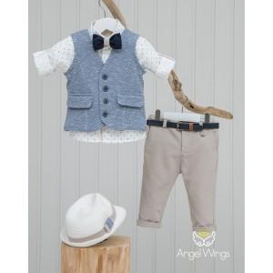 Βαπτιστικό Σύνολο για Αγόρια Henry | Angel Wings 126