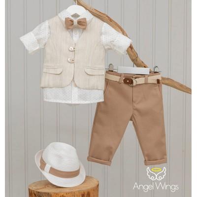Βαπτιστικό Σύνολο για Αγόρια Jarvis | Angel Wings 167