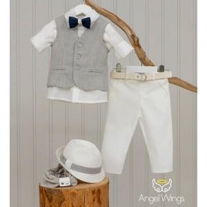 Βαπτιστικό Σύνολο για Αγόρια Eliot | Angel Wings 169