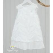 Βαπτιστικό Φόρεμα Off White Vionet | Angel Wings 074