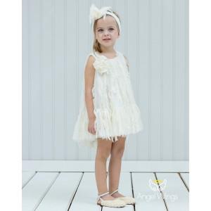 Βαπτιστικό Φόρεμα Delphine | Angel Wings 146
