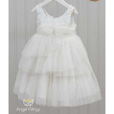 Βαπτιστικό Φόρεμα Paeonia | Angel Wings 147