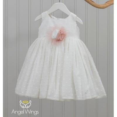 Βαπτιστικό Φόρεμα Ginger   Angel Wings 155