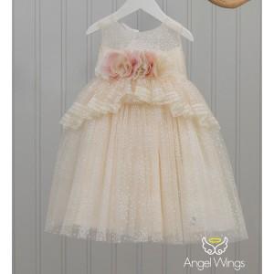 Βαπτιστικό Φόρεμα Sylia | Angel Wings 179