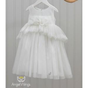 Βαπτιστικό Φόρεμα Cecilia | Angel Wings 180