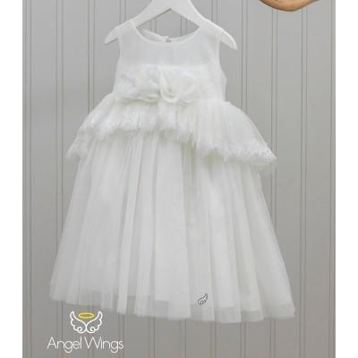 Βαπτιστικό Φόρεμα Cecilia   Angel Wings 180