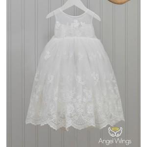 Βαπτιστικό Φόρεμα Emma | Angel Wings 220