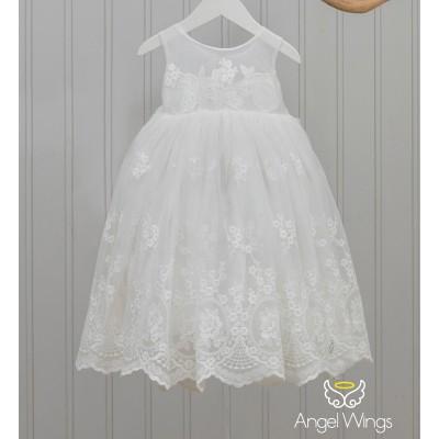 Βαπτιστικό Φόρεμα Emma   Angel Wings 220