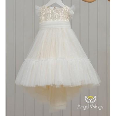 Βαπτιστικό Φόρεμα Kathy | Angel Wings 227