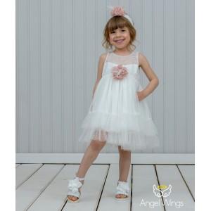 Βαπτιστικό Φόρεμα Vicky | Angel Wings 228