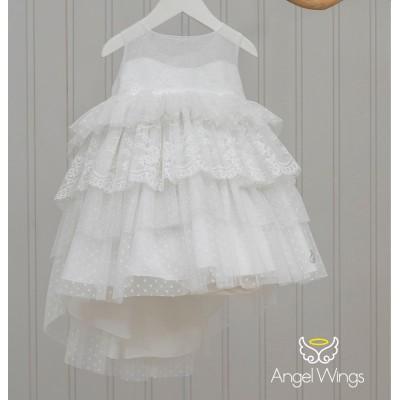 Βαπτιστικό Φόρεμα Barbie | Angel Wings 231