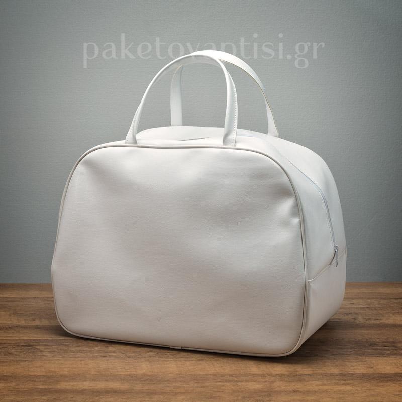 d027c7333c3 Τσάντα Βάπτισης Λευκή Απλή