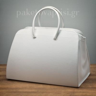 Τσάντα Βάπτισης Λευκή Woman