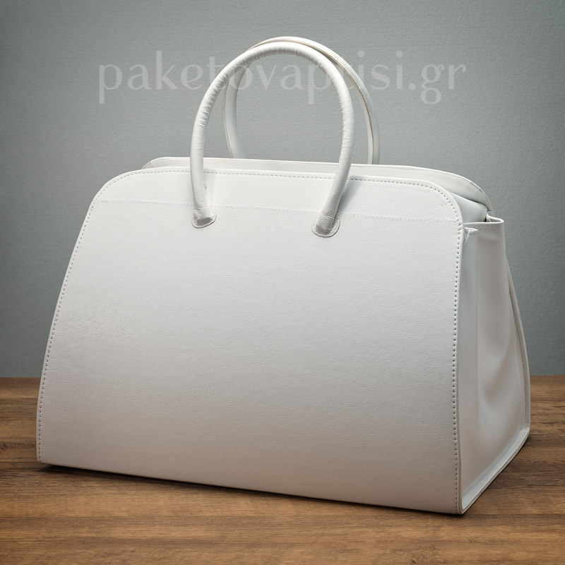 44764aaba79 Τσάντα Βάπτισης Λευκή Woman