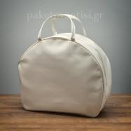 Τσάντα Βάπτισης Καπελιέρα Εκρού