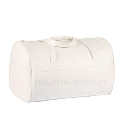 Τσάντα Βάπτισης Λευκό Βαρελάκι
