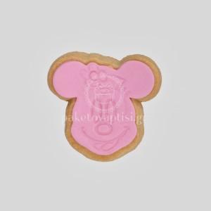 Μπισκότο Βάπτισης Minnie Mouse