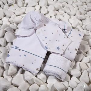 Λαδόπανο Βάπτισης Baby Star | Lina Baby 1309