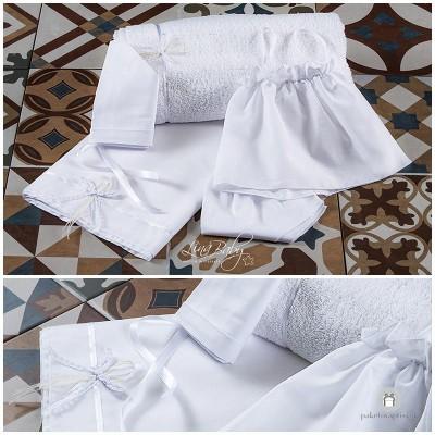 Λαδόπανο Βάπτισης Simple and Elegant | Lina Baby 136