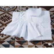 Λαδόπανο Βάπτισης Γαλλική Φινέτσα | Lina Baby 1383