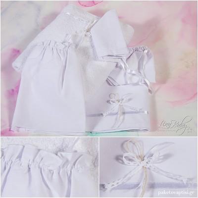 Λαδόπανο Βάπτισης Simple and Elegant   Lina Baby 136