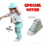 Σετ Ρούχο Mi Chiamo + Παπούτσια Βάπτισης Everkid για Αγόρι 003