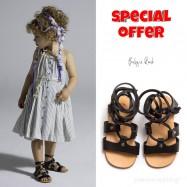 Σετ Ρούχο + Παπούτσια Βάπτισης Baby u Rock για Κορίτσι 021