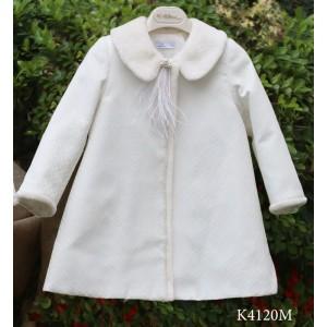 Χειμερινό Εκρού Μαντώ Mi Chiamo K4120