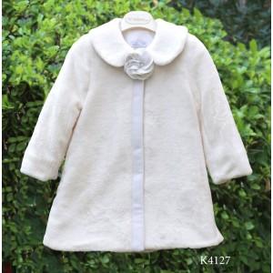 Χειμερινό Γούνινο Εκρού Μαντώ Mi Chiamo K4127