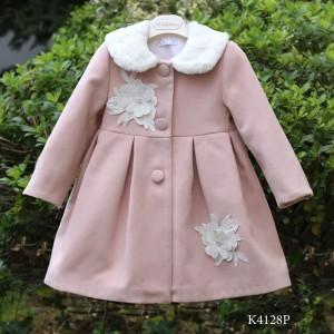 Χειμερινό Ροζ Παλτό Mi Chiamo K4128