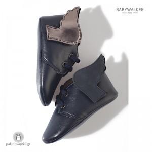Δερμάτινα Sneakers Αγκαλιάς με Φτερά Babywalker MI1025