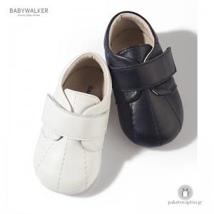 Παπουτσάκια Μονόχρωμα με Velcro για τα Πρώτα Βήματα Babywalker PRI2002