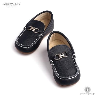 Δερμάτινα Loafers για Αγόρια με Αγκράφα Babywalker BS3006
