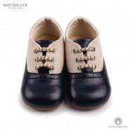 Δετά Δίχρωμα Brogues Babywalker BS3032