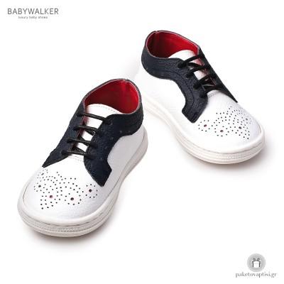 Δετά Δερμάτινα Sneakers Babywalker BS3033