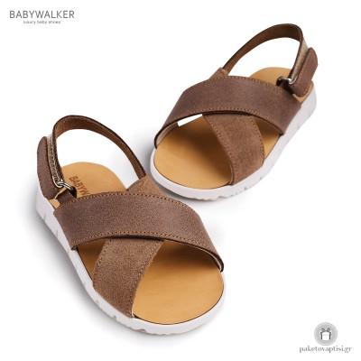 Δερμάτινα Σανδαλάκια για Αγόρια Babywalker BW4094