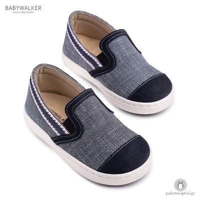Υφασμάτινα Slip-On Sneakers για Αγόρια Babywalker BW4113