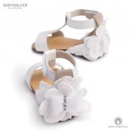 Δερμάτινα Πέδιλα με Διακοσμητικό Λουλούδι για Κορίτσια Babywalker BW4636