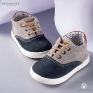 Δερμάτινα Sneakers για Αγόρια Babywalker EXC5067