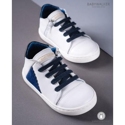 Δετά Δερμάτινα Sneakers για Αγόρια Babywalker EXC5099