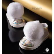 Δετά Sneakers με Μεγάλο Pom Pon για Κορίτσια Babywalker EXC5647